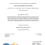Certificazione ISO 14001/2015